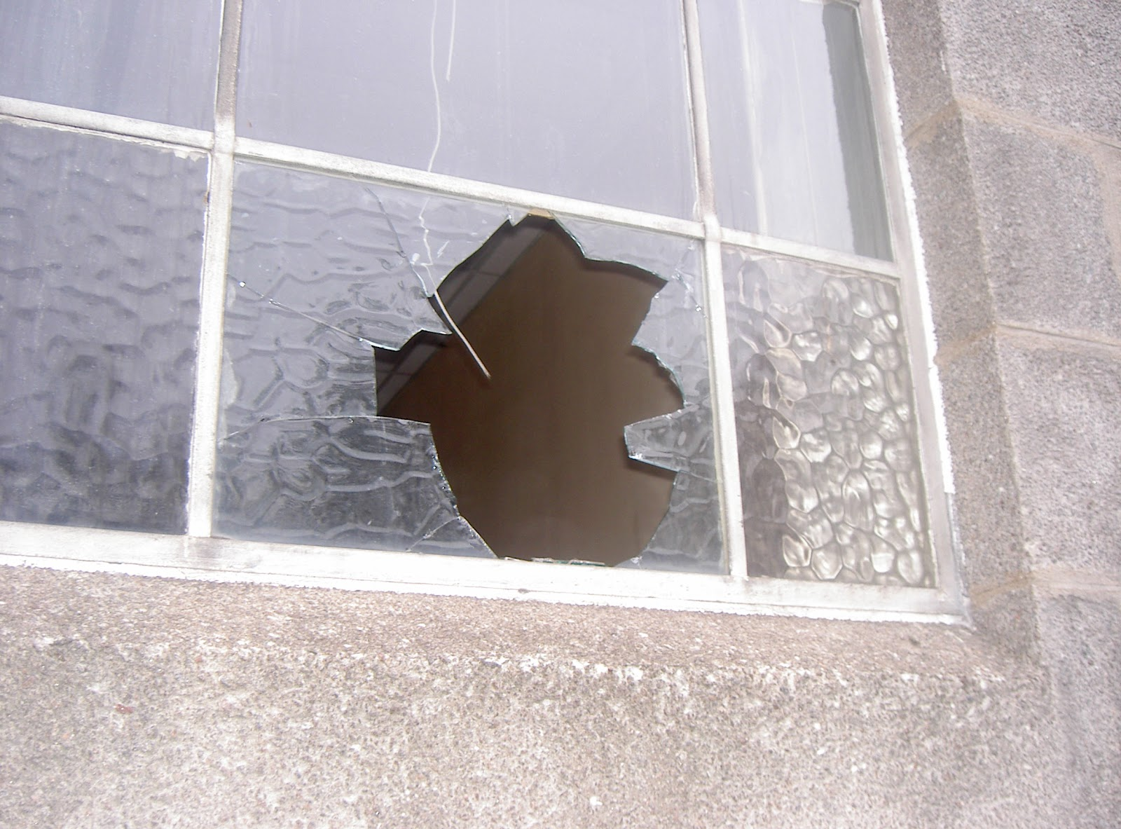 Broken Glass Window : Getting to the truth of matter