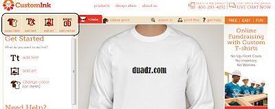 Buat Design Baju Secara Online. Terbaek ~
