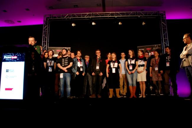 Półfinaliści konkursu FameLab 2014 - fot. www.granty-na-badania.com