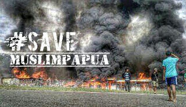 Masjid Dibakar, Muslim Masih Diminta Sabar #Save Muslim Papua