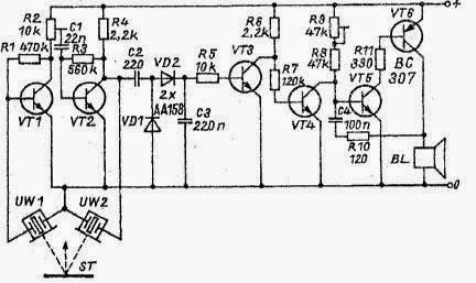 Transistors Circuit Diagram