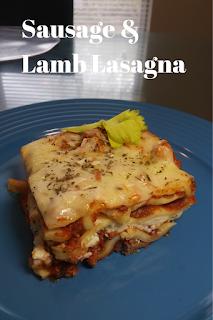 Sausage & Lamb Lasagna