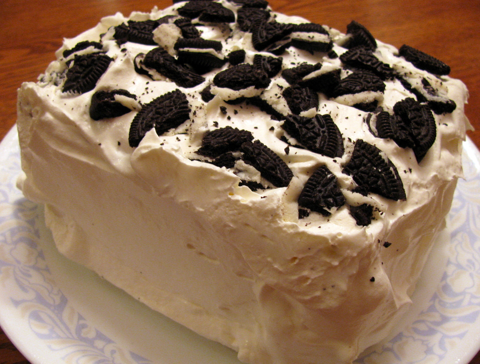 Ice Cream Cake Recipes Pictures : Ice Cream Sandwich Cake