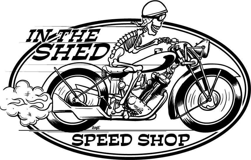 Vintage Speed Shop Logos Speed Shop Logo Design in The