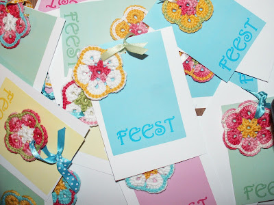Party Invitations, Flowers