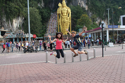 we jump jumpshot at batu caves