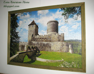 How to frame a puzzle, puzzle of Bedzin Castle