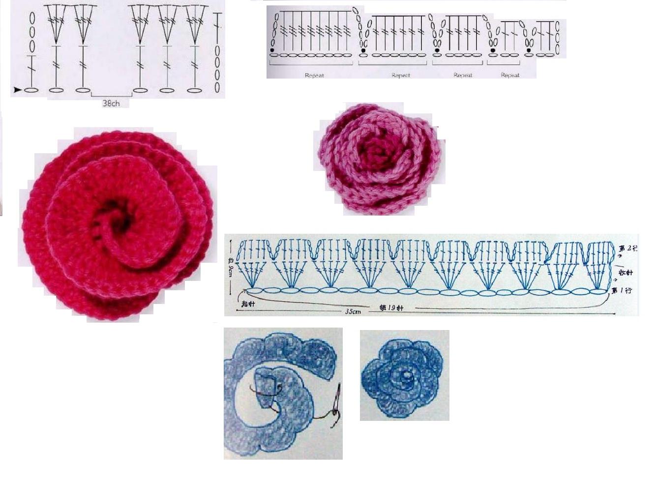 Rinconcito de Hada Nocturna: Nuevos broches y anillos a crochet