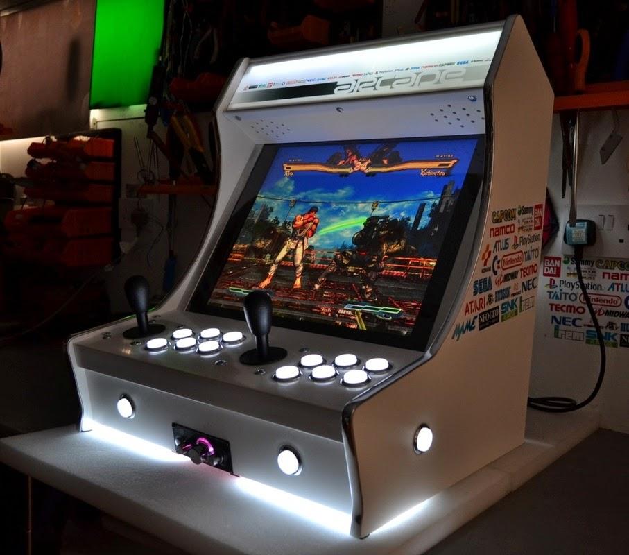 Fliperama de gra a como montar seu arcade passo 1 o - Borne d arcade maison ...