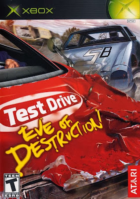 Test Drive: Eve of Destructions Xbox Cover Art