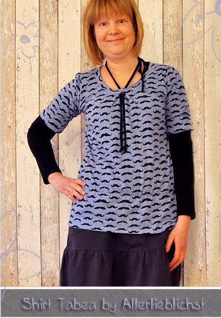 Shirt Tabea und Sweatrock by Allerlieblichst