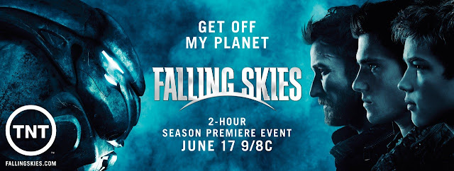 "Falling Skies Season 2 on TNT Banner - ""Get Off My Planet"""