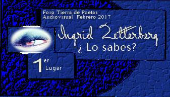 Diploma de Primer puesto en el foro Tierra de Poetas