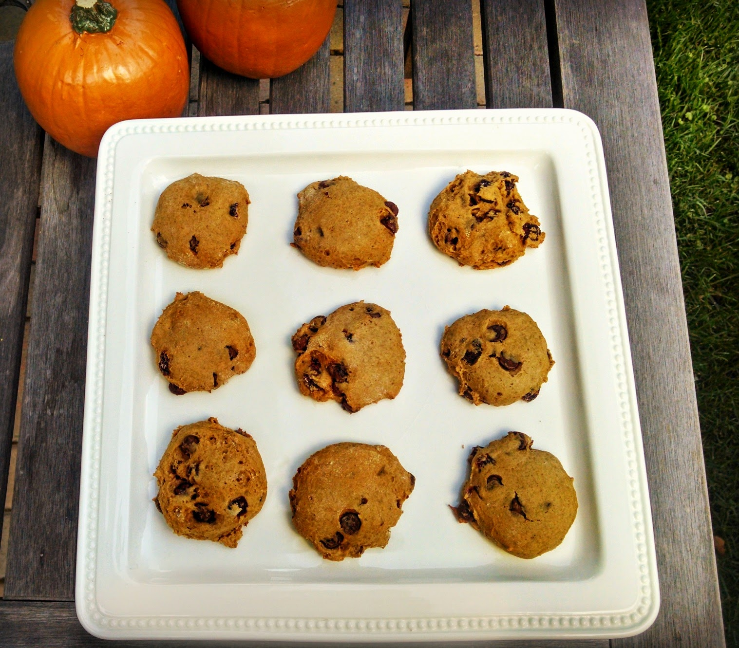 Finding BonggaMom: Pumpkin Cranberry Chocolate Chip Cookies