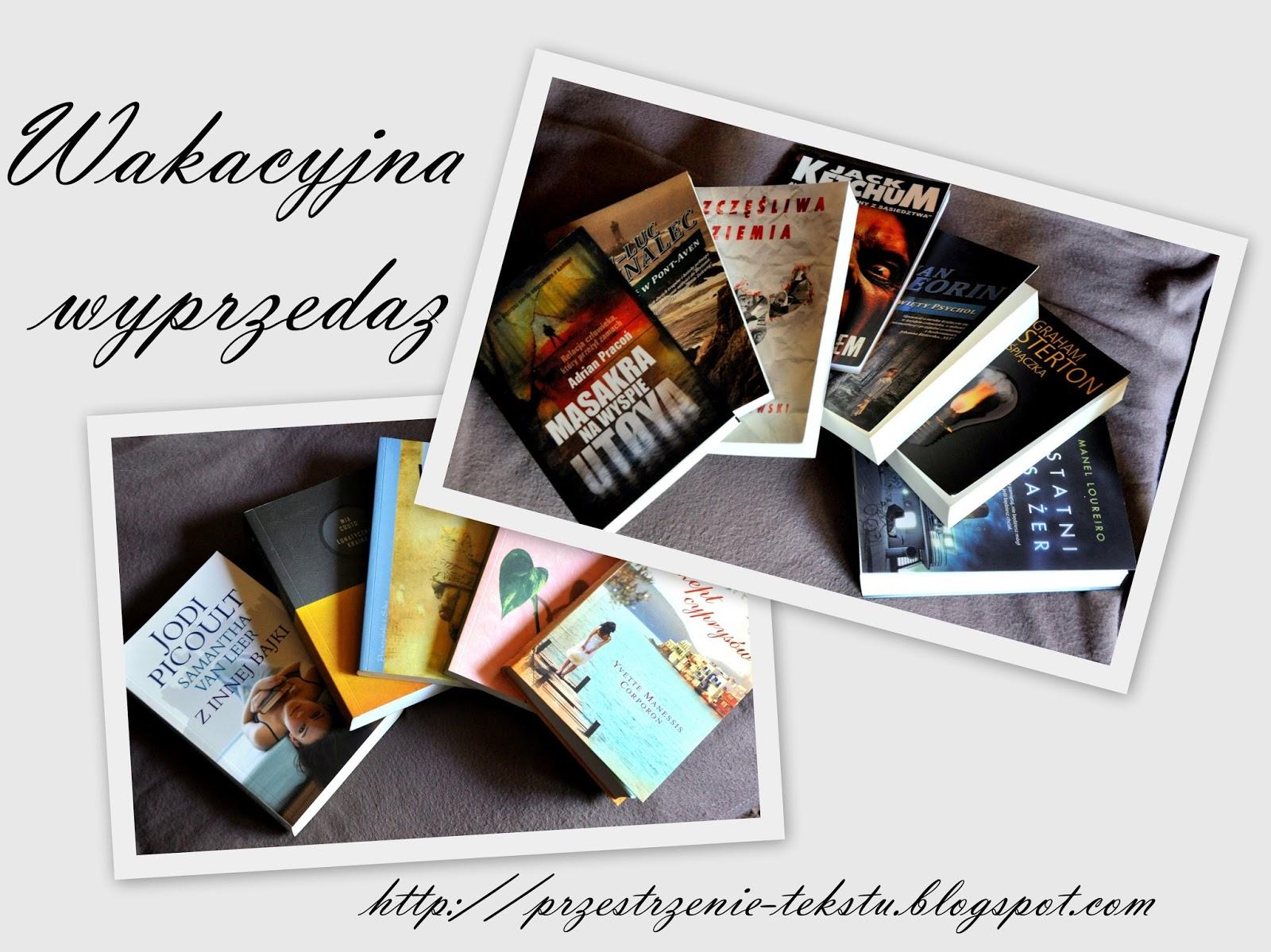 http://przestrzenie-tekstu.blogspot.com/2014/08/wakacyjna-wyprzedaz.html