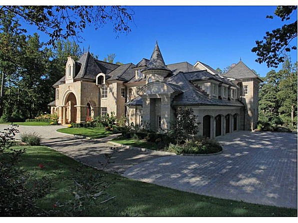 mansions more french style new jersey estate. Black Bedroom Furniture Sets. Home Design Ideas