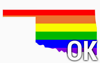 oklahoma in rainbow with OK