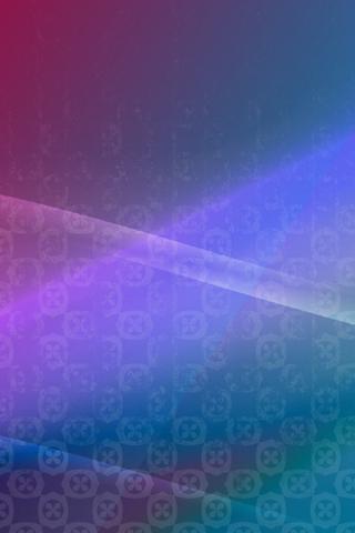 Wallpaper Para IPhone Abstrato Em Tons De Azul E Roxo