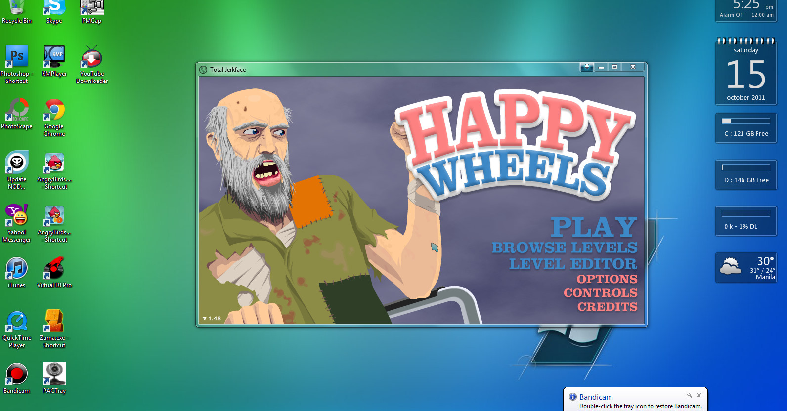 happy wheels swf