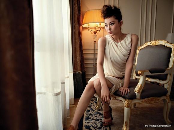 Girls Beauty Wallpaper Zhang Xinyu 10