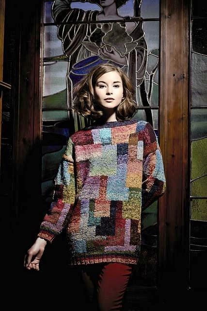 sweter w swietnych kolorach
