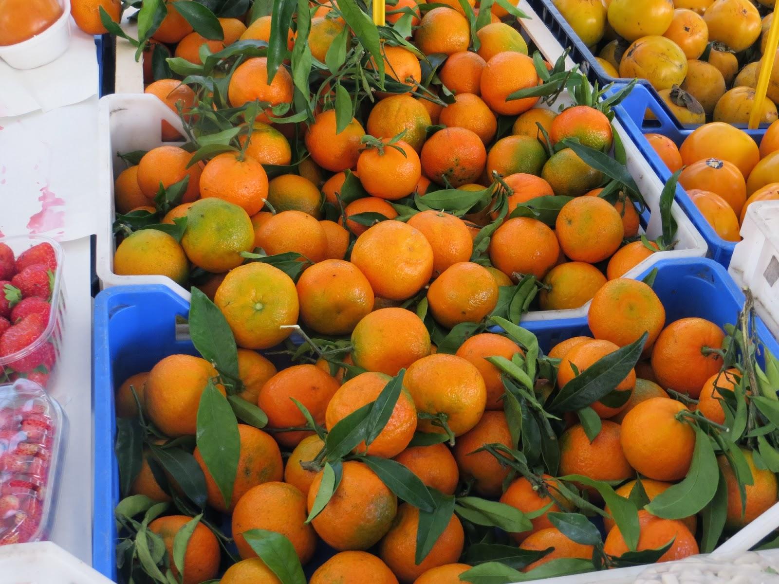 Fresh Oranges in the Campo de Fiore, Rome, Italy
