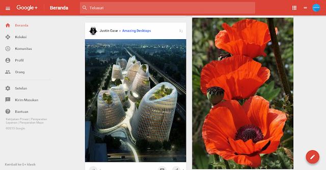 Google Plus Hadir dengan Tampilan Terbaru