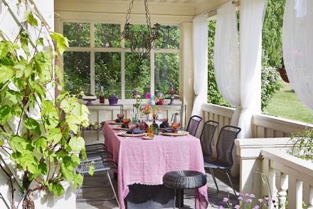 Estilo rustico porches rusticos - Porches de casas de campo ...