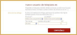 Solicitar una pizza, más fácil que nunca con la aplicacion oficial de Telepizza
