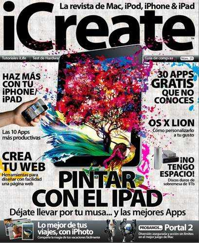 Revista: iCreate - Noviembre 2011 [PDF | Español | 64.09 MB]