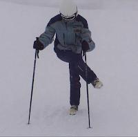 Calentar antes de esquiar