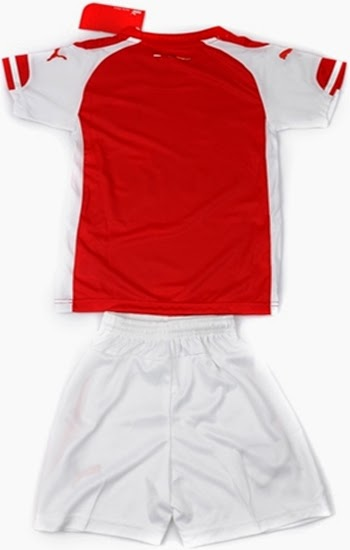 14-15 Arsenal Home jersey customized for children
