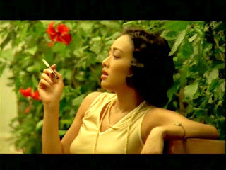 Christy Chung Smoking Cigarettes
