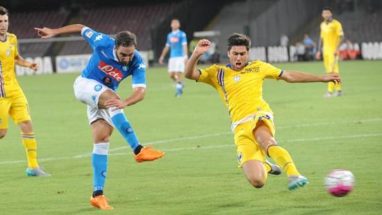 Higuain - Napoli 2 x 2 Sampdoria - Campeonato Italiano(Calcio) 2015/16