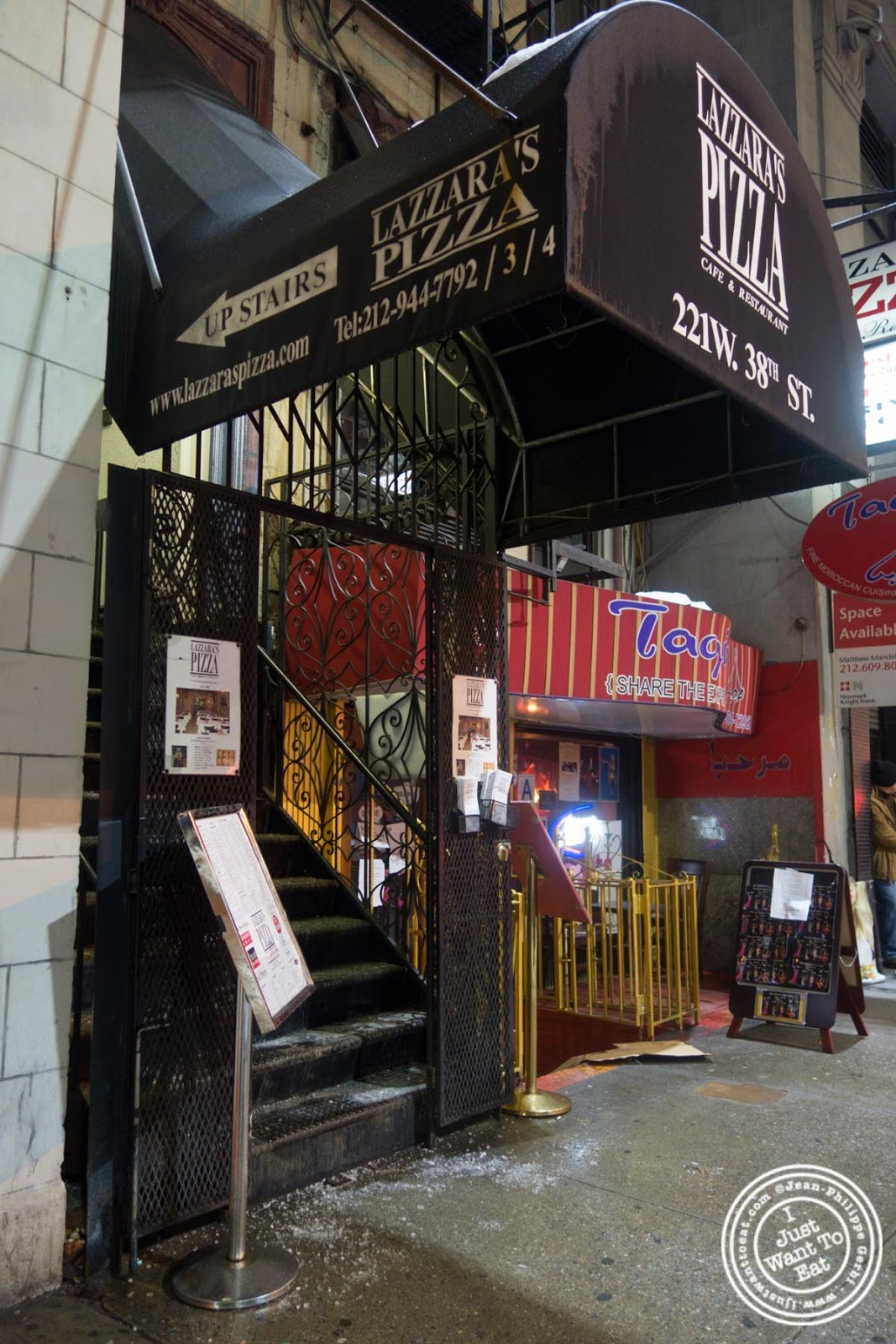 image of Lazzara's Pizza and Café in the Garment District, NYC, New York