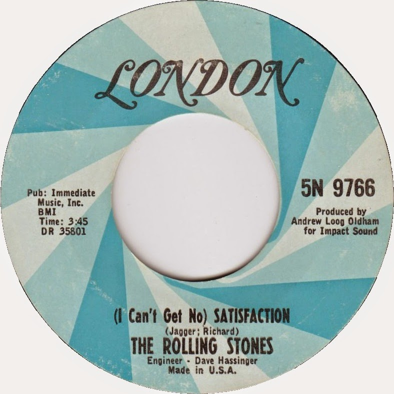 The 60s At 50 April July 1965 Satisfaction