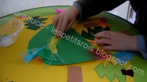 activité manuelle tortue en carton