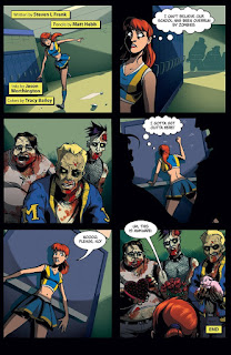 Page 22 of Zombies vs Cheerleaders 2015 Halloween Special from Zenescope Entertainment