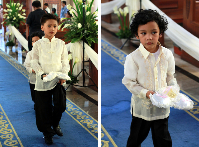 Immaculate Conception Cathedral, Cubao Wedding. photo by Julienne M.