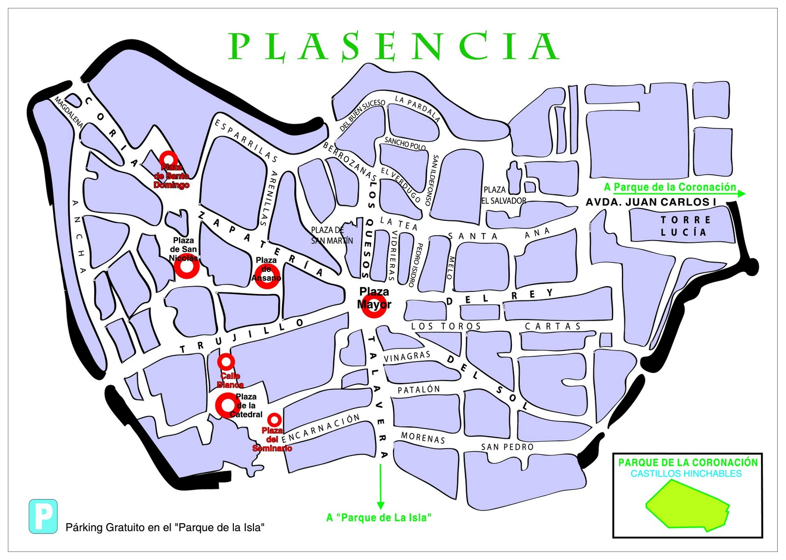 callejero plasencia: