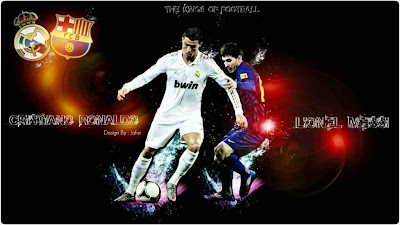 Messi vs Ronaldo wallpaper