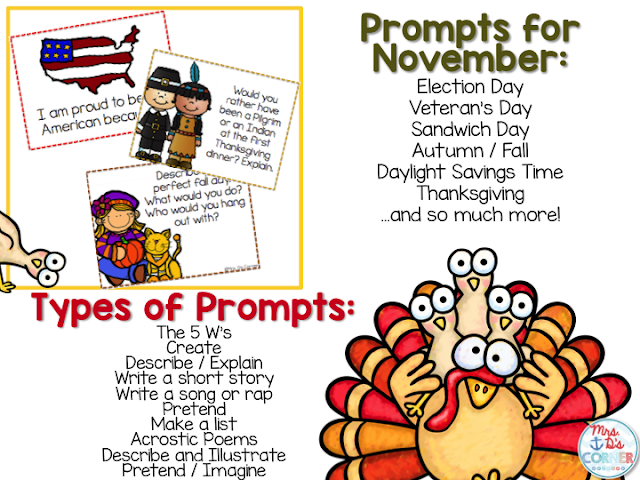 https://www.teacherspayteachers.com/Product/November-Writing-Prompts-November-Journal-Prompts-349669