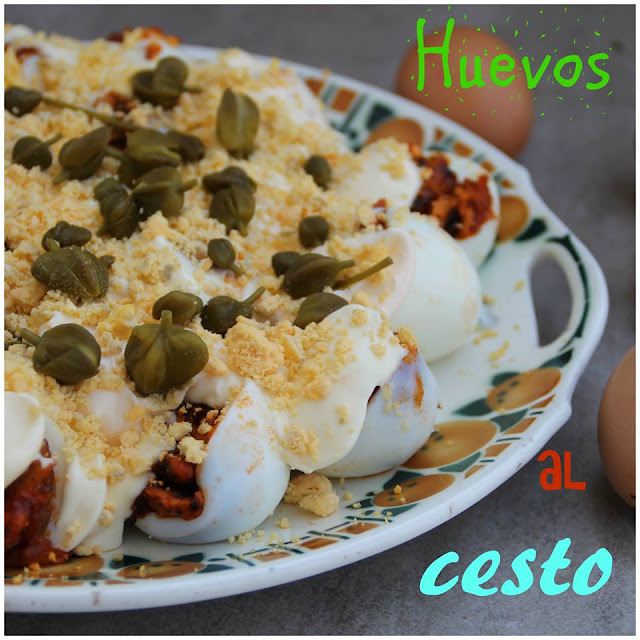 Huevos Al Cesto {receta De La Bruji}