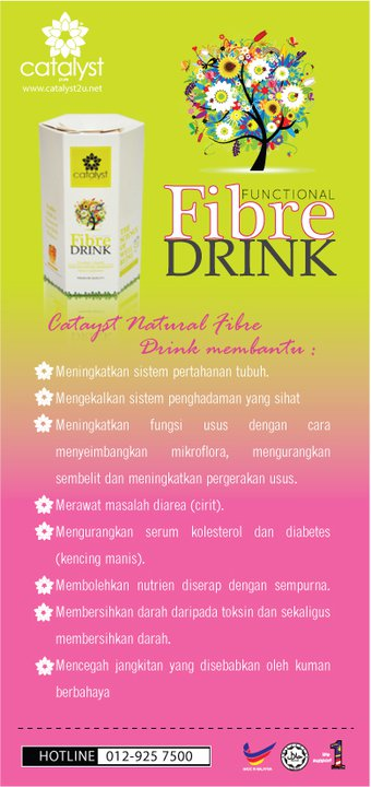 Kandungan Dalam Fibre Drink