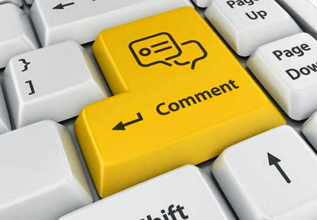 Blogger Comment Menu