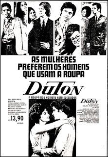 roupa Duton, moda anos 70, Brazil fashion in the 70s, propaganda anos 70; história da década de 70; Brazil in the 70s; Oswaldo Hernandez