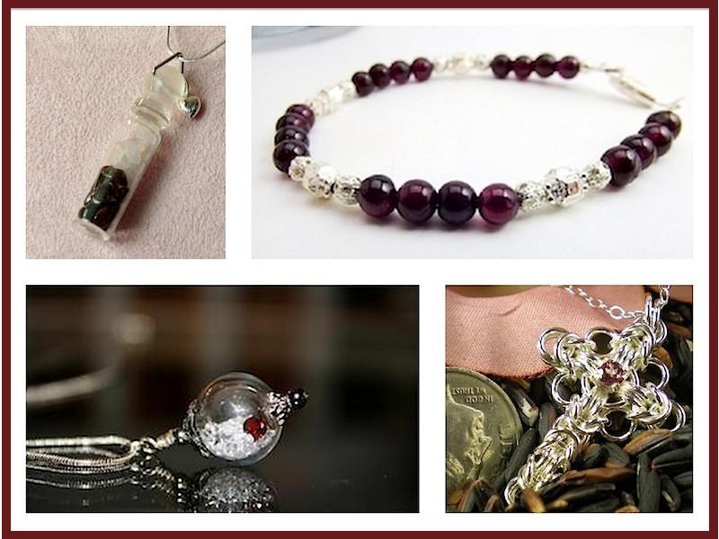 Discover Handmade Garnet