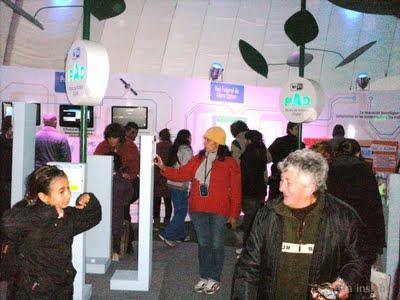 Exhibición de tecnologías electrónicas Tecnópolis