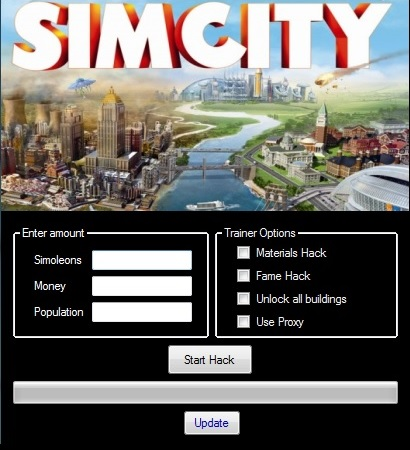 SimCity 5 Hack ToolTrainer GAMES EXTENSION PARADISE