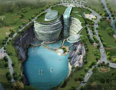 Songjiang,( quarry mine ), China
